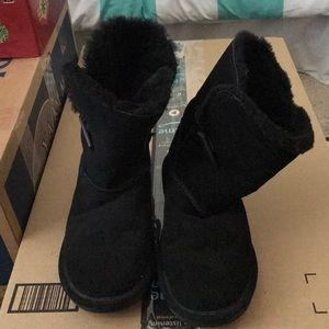 Bearcats Sherpa suede boots size 9